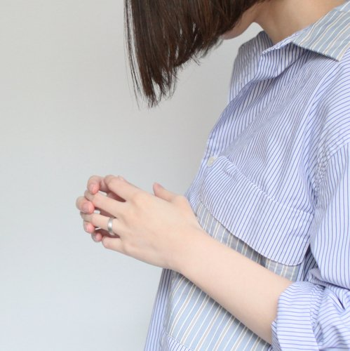 utsu-wa(ウツワ) / ペアリング「ku」M+L/010