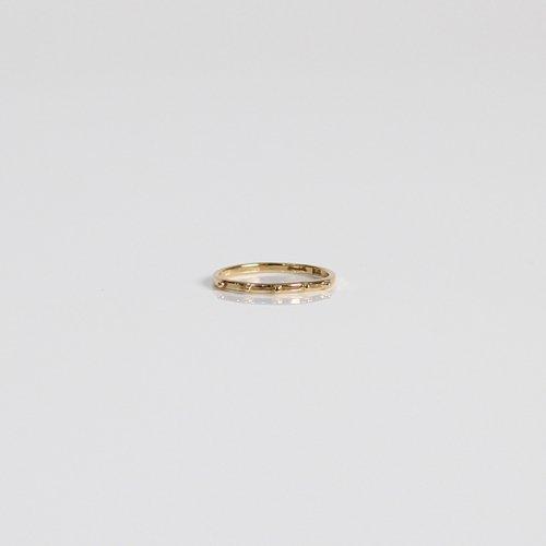 hirondelle et pepin(イロンデールエペパン) / k18 hr-426 ドットリング M