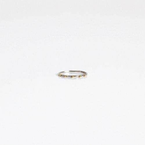hirondelle et pepin(イロンデールエペパン) / pt pr-64 ドット リング コンビ S