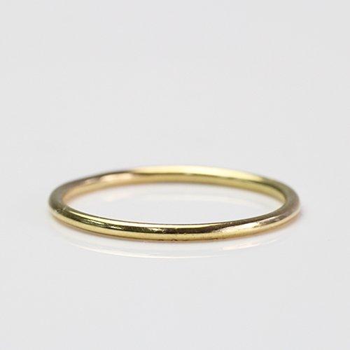 【廃番商品】Perche?(ペルケ) / k18 plain リング - 1.3mm
