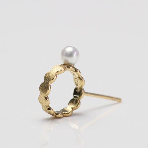 Perche?(ペルケ) / k18 marumaru pearl ピアス 1 (片耳タイプ)