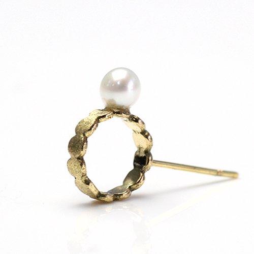 Perche?(ペルケ) / k18 marumaru pearl ピアス 2 (片耳タイプ)