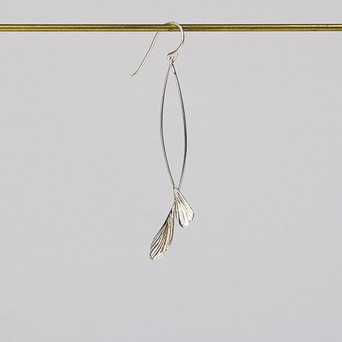 moca.arpeggio(モカ アルペジオ) / LP-2 Little birds ピアス S - シルバー (片耳タイプ)