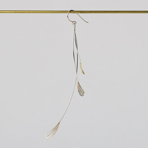 moca.arpeggio(モカ アルペジオ) / LP-5 Little birds ピアス L  - シルバー (片耳タイプ)