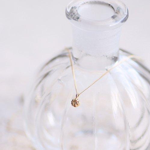 【廃番商品】hirondelle et pepin(イロンデールエペパン) / k18 hn-436 ssシャトン ネックレス - ダイヤモンド