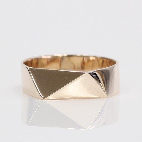 uM(ユーム) / um-fmR01_10YG k10 folding metal リングM - ゴールド