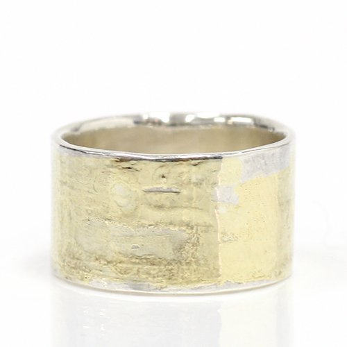 hirondelle et pepin(イロンデールエペパン) / k18  Silver sr-04 プレートリング 04 M