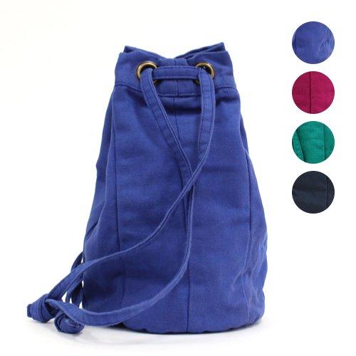SEASIDE FREERIDE(シーサイドフリーライド) / 【完売】キャンバス 2way 巾着型 ミニバッグ ONI BAG - 全4色
