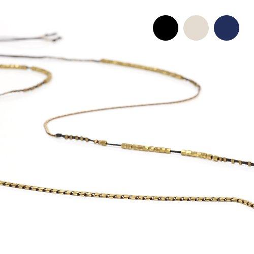 serefina(セレフィーナ) / ワックスコードロングネックレス 1151/全3色