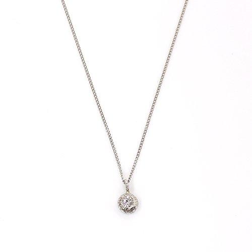 hirondelle et pepin(イロンデールエペパン) / pt900 pn-28 プチダイヤ ネックレス