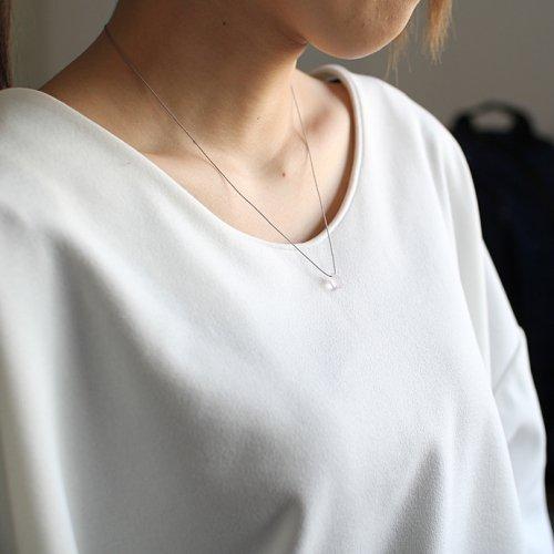 siki(シキ) / 【廃番商品】SK-NSD07 石の雫ネックレス - ローズクォーツ