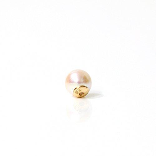 hirondelle et pepin(イロンデールエペパン) / k18 hc-2 あこやパール キャッチ (片耳タイプ)