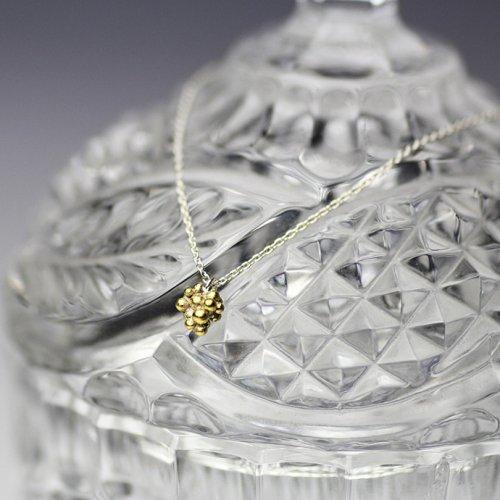 YUKO SATO / 桑の実ネックレス - 真鍮
