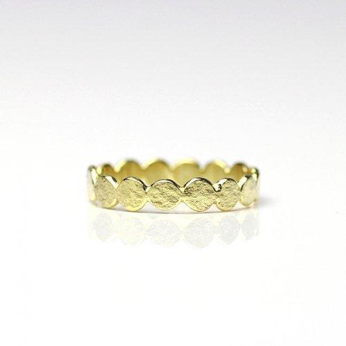 YUKO SATO / dot ring ドットリング - 真鍮