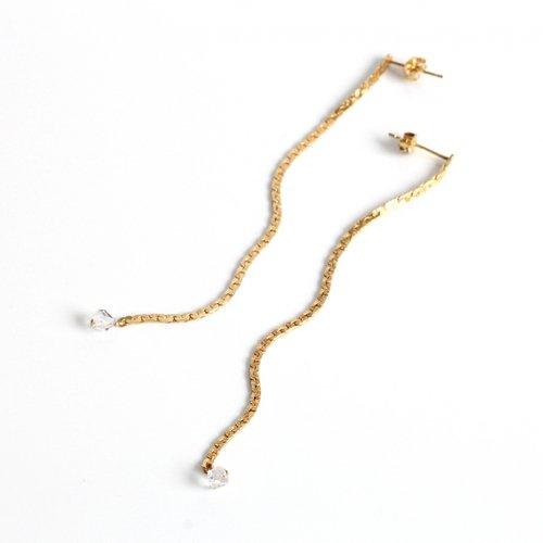 cocozelle(ココゼル) / COP-09 chain ピアス5