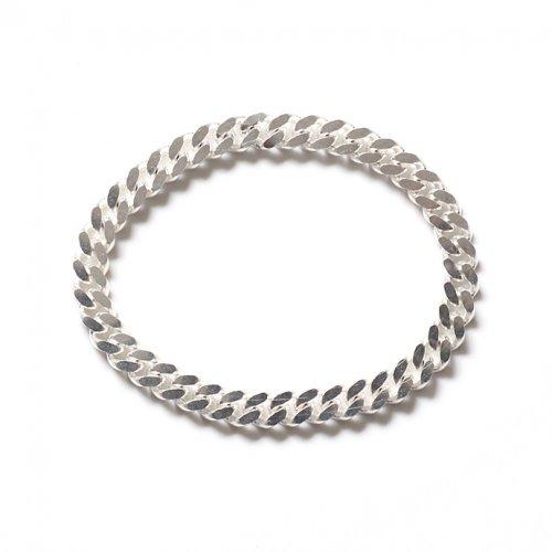 ina.seifart(イナ・セイファート) / kabelbinder bracelet チェーンブレスレット - シルバー