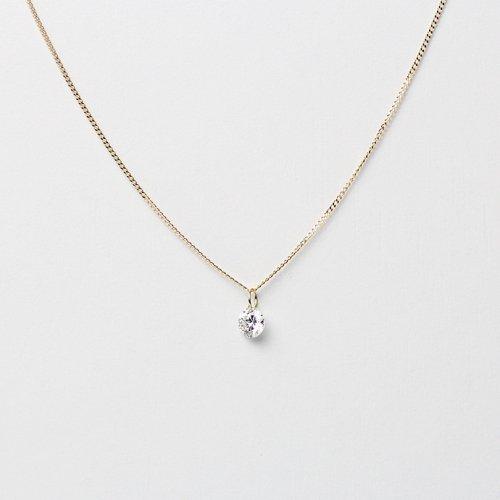 hirondelle et pepin(イロンデールエペパン) / k18 hn-468 ルースダイヤ ネックレス (限定品)