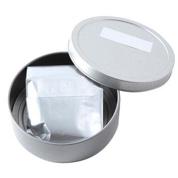 煎茶(荒茶)缶入り(アルミ袋30g)