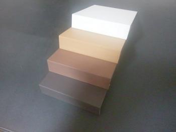 デッキオ副資材 端部カバー L=1350mm ダーク