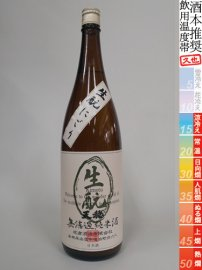 天穏・無ろ過 生もと純米 にごり酒/1800ml