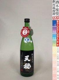 天穏・純米無濾過生原酒【令和1BY】/720ml