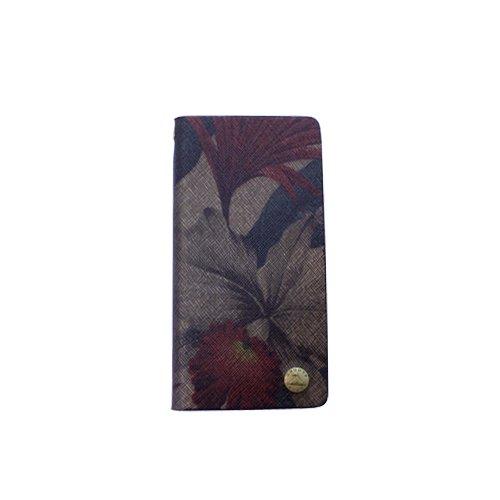 iPhone 6&7 case (Book) ボタニカル柄