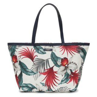 TOTE BAG WHITE BOTANICAL