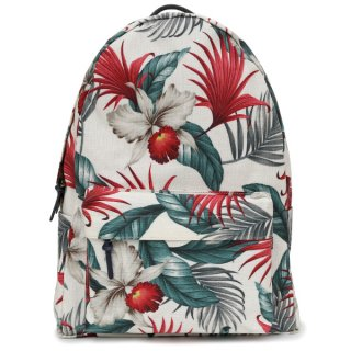 BACKPACK WHITE BOTANICAL