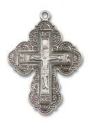アイリーンクロス イレーヌ十字架 ペンダント スターリングシルバー製 【受注発注】