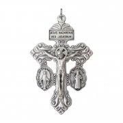 贖罪の十字架 不思議のメダイと聖ベネディクトのメダイ クロスペンダント イタリア製