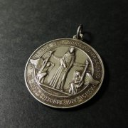 アッシジの聖フランシスコ 没後7世紀 メダイ アンティーク