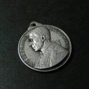 教皇ピウス12世 冠を授かる聖母マリア メダイ ヴィンテージ
