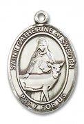 スウェーデンの聖カタリナ メダイ L/M/S スターリングシルバー製 ペンダント 【受注発注】