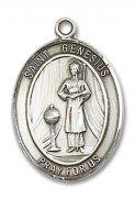 ローマの聖ジェネシウス メダイ L/M/S スターリングシルバー製 ペンダント 【受注発注】