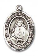 聖マリア・ベルティラ・ボスカルディン メダイ L/M スターリングシルバー製 ペンダント 【受注発注】