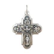 クロス型 聖人のメダイ キリスト 聖クリストファー 不思議のメダイ 聖ヨセフ 聖アントニオ 聖霊 イタリア製