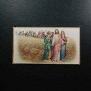 アンティーク ホーリーカード  キリストと使徒