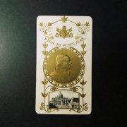 アンティーク ホーリーカード  教皇ピウス11世