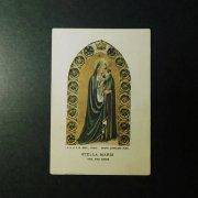 ヴィンテージ ホーリーカード  ベアト・アンジェリコのステラマリス 聖母子