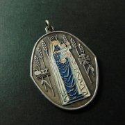 聖母子 ヴィンテージ エナメル メダイ