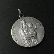 守護の聖母 ノートルダム・ド・ラ・ガルド キリスト アンティークメダイ