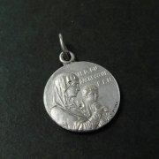 ル・マス・リリエの聖心の聖母 アンティークメダイ