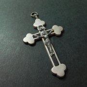 アンティーク  キリスト磔刑 十字架 クロス ルルド
