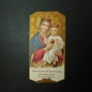 アンティーク ホーリーカード  聖母子 サクレクール