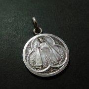 マリエンサルの聖母 アンティーク メダイ