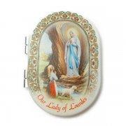 ルルドの聖母マリア コンパクトミラー 折りたたみ鏡