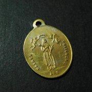 聖フィロメナと聖天使 アンティークメダイ