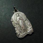 ルルドの聖母 アンティークメダイ