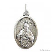 聖ユダ・タダイ メダイ ◆ 絶望と敗北者の守護聖人 イタリア製