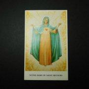 ヴィンテージ ホーリーカード  聖母と御心